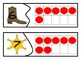 Cowboy Number Recogniton Ten Frame Match 0-20