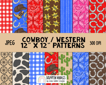 Cowboy Way Backgrounds