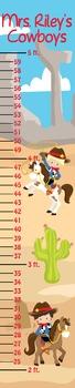 Cowboys Classroom Growth Chart