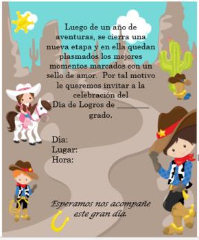 Cowboys Invitation Editable!!!!