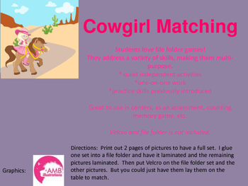 Cowgirl Matching