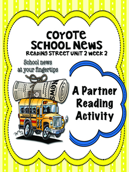 Coyote School News  Reading Street 4th Grade Partner Read