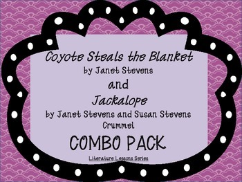 Coyote Steals the Blanket and Jackalope Combo Pack: Guided