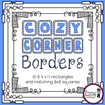 Square Borders {Cozy Corner}