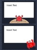 """Crab-Tastic Fun! - Add Your Own Text! """"Sea"""" for Yourself!"""