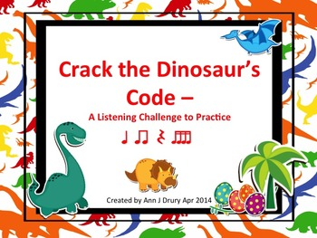 Crack the Dinosaur's Code - A Listening Challenge to Pract