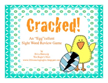 """Cracked-An """"Egg""""cellent Sight Word Review Game"""