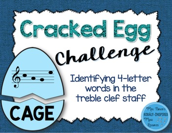 Cracked Egg Challenge: Identifying Four-Letter Words in th