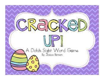 Cracked Up! Dolch Sight Word Game