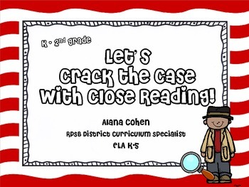Cracking the Case with Close Reading