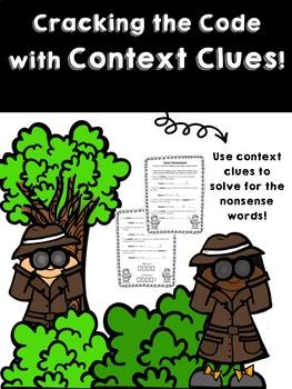 Context Clues FREEBIE Worksheet