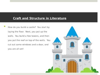 CCSS RL 3.4-3.6 - Craft and Structure in Literature - Intr