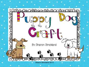 Craft with Puppy Theme