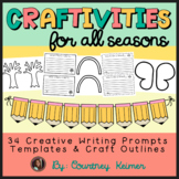 Craftivities for All Seasons - Writing Prompts, Templates