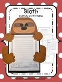 Craftivity: Rainforest Sloth
