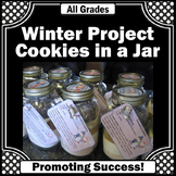 Winter Crafts Cookie in a Jar Fundraising Gift Idea Studen