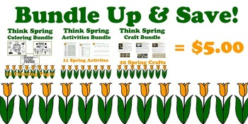 Crafty Critters: Think Spring Bundle