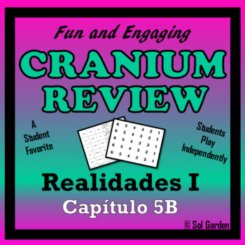 Cranium Review - Realidades I, Chapter 5B