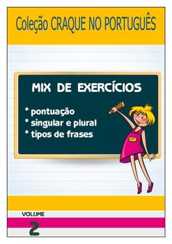 Craque no Português - Mix de Exercícios - Volume 2