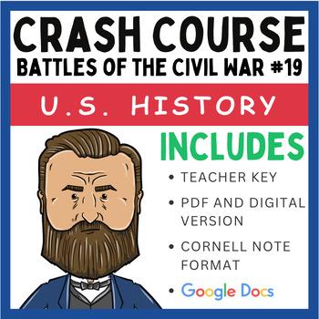 Crash Course U.S. History: Battles of the Civil War #19