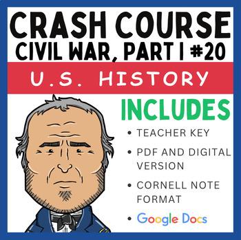 Crash Course U.S. History: Civil War, Part I #20
