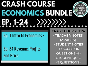 Crash Course Economics Ep. 1-24