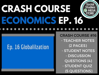 Crash Course Economics Globalization, trade, and poverty Ep. 16