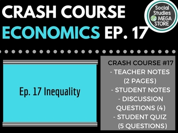 Crash Course Economics Income and Wealth Inequality Ep. 17