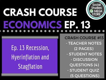 Crash Course Economics Recession, Hyperinflation, and Stag