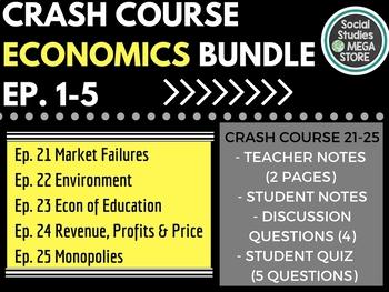Crash Course Economics Worksheets 1-5