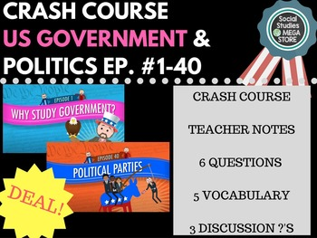 Crash Course Government and Politics Ep. 1-40