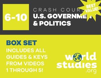 "Crash Course  Government and Politics Video Guide ""Box Set"