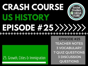 Crash Course Growth, Cities, and Immigration Ep. 25