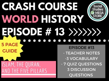 Crash Course Islam, the Quran, and the Five Pillars  Ep 13
