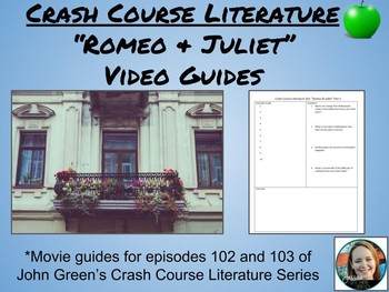 Crash Course Literature #2-Romeo and Juliet Part 1