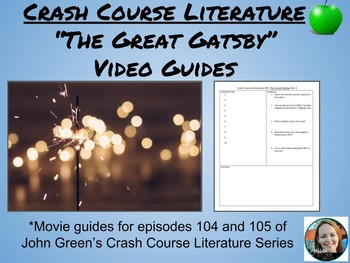 Crash Course Literature-The Great Gatsby Part 1-Study Guide #4
