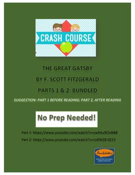 Crash Course Literature: Great Gatsby by F. Scott Fitzgera