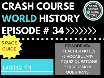 Crash Course Nationalism Ep. 34