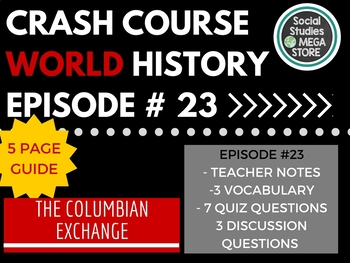Crash Course The Columbian Exchange Ep. 23