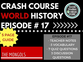 Crash Course The Mongols Ep. 17