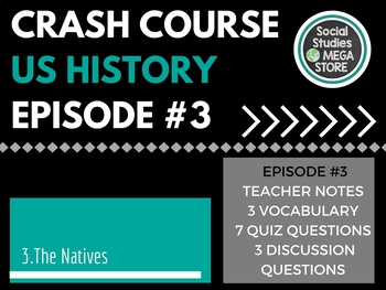 Crash Course The Natives and the English Ep. 3