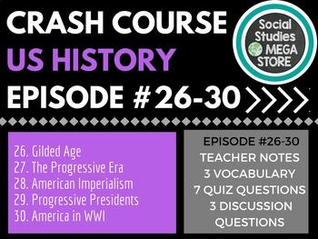 Crash Course US History 26-30