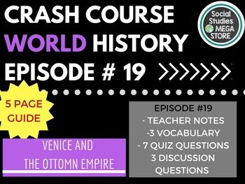 Crash Course Venice and the Ottoman Empire Ep. 19