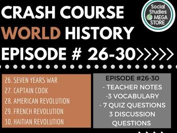 Crash Course World History 26-30