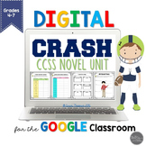 Crash by Jerry Spinelli for Google Slides Common Core Aligned