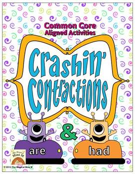 Crashin' Contractions: {Are & Had} Word Work