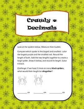 Crawly Decimals