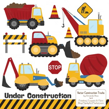 Crayon Box Boy Construction Clipart & Vectors