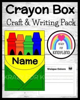 Martin Luther King, Jr. Craft and Writing: Crayon Box Craf