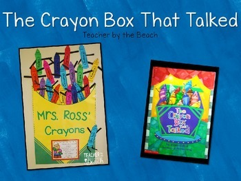 Crayon Box that Talked {Editable}